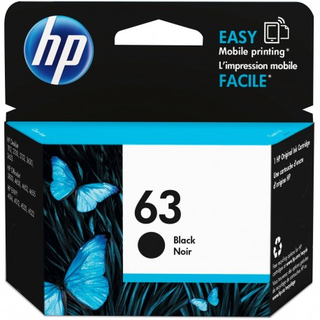 کارتریج مشکی اچ پی HP 63 BLACK F6U62AN