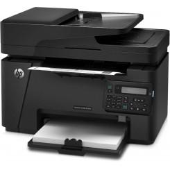 پرینتر چند کاره اچ پی لیزری مشکی HP LaserJet Pro MFP M127fn CZ181A Printer