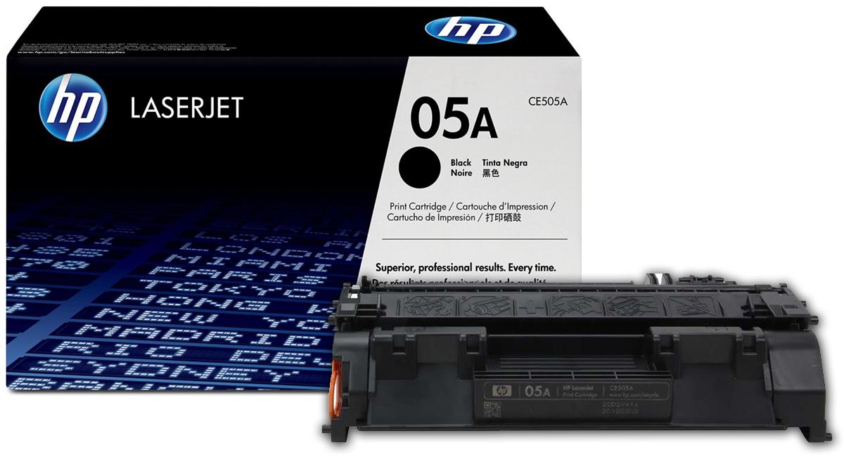 کارتریج طرح HP 05A