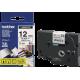 کاست برچسب لیبل برادر TZe231 مشکی روی سفید Brother TZe-231 p touch Label Tape Black on White