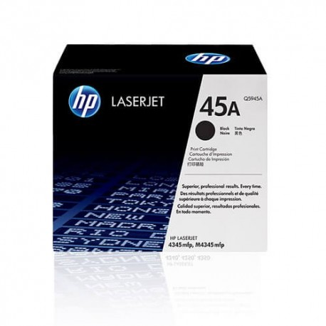 کارتریج لیزری اچ پی HP45A